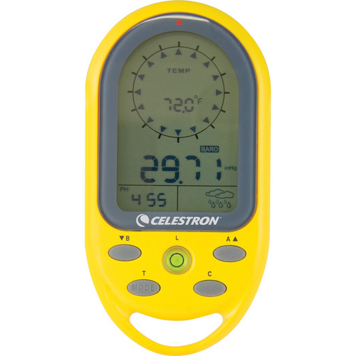 Celestron TrekGuide Digital Compass (Yellow)