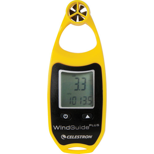 Celestron WindGuide Plus Anemometer - Yellow