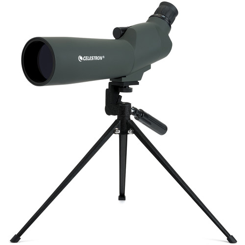 Celestron 20-60x60 45° Zoom Refractor Spotting Scope Kit (Angled Viewing)