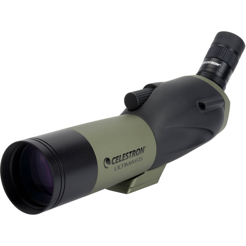 Celestron Ultima 65 18-55x65mm Spotting Scope Kit (Angled Viewing)
