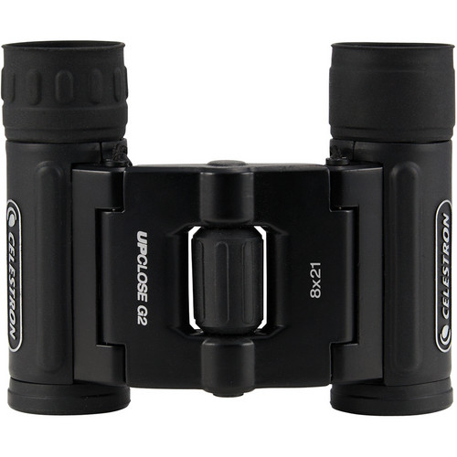 Celestron UpClose G2 8x21 Roof Binoculars (Clamshell Packaging)