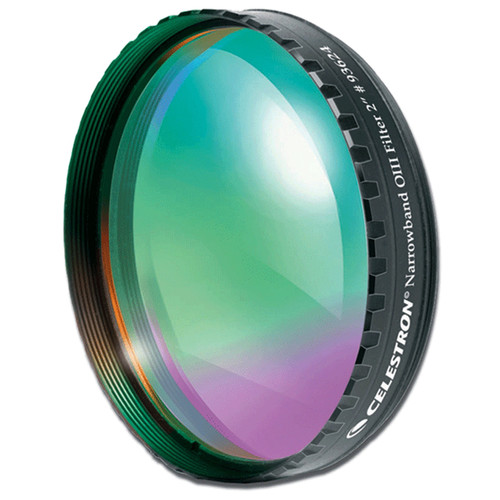 """Celestron Oxygen III (OIII) Narrowband 48mm Filter (Fits 2"""" Eyepieces)"""