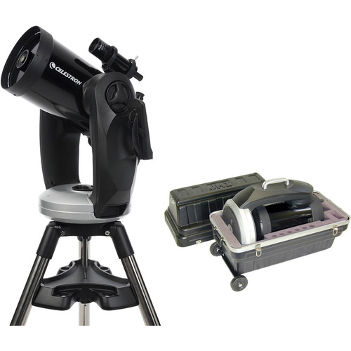 "Celestron CPC 800 GPS (XLT) 8"" GoTo Telescope Kit with Carrying Case"