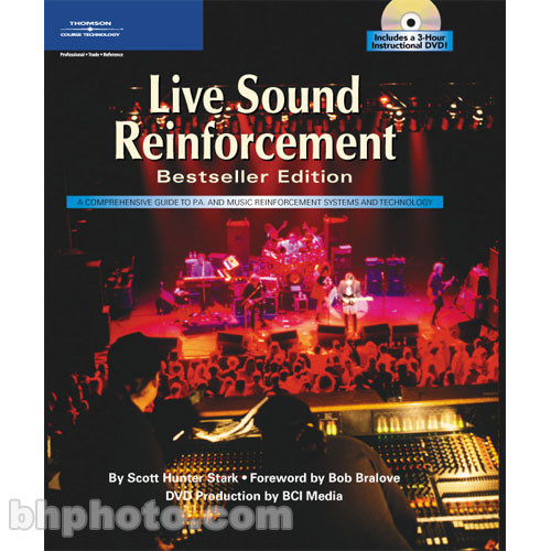 Cengage Course Tech. Book/DVD: Live Sound Reinforcement