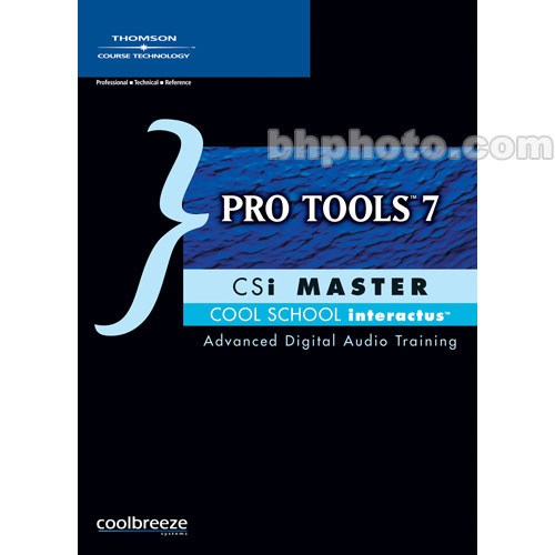 Cengage Course Tech. CD-Rom: Pro Tools 7 CSi Master