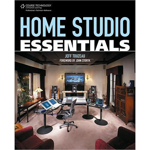 Cengage Course Tech. Book: Home Studio Essentials by Jeff Touzeau