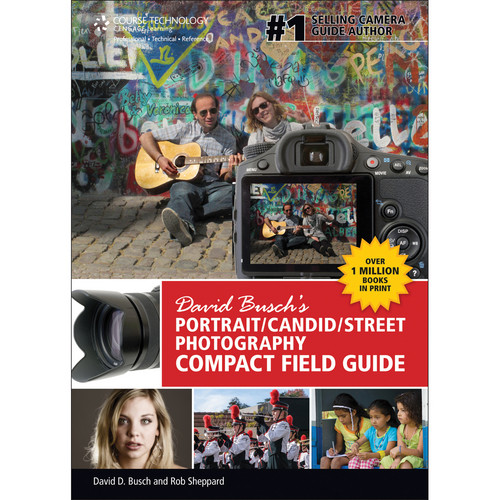 Cengage Course Tech. Book: David Busch's Portrait / Candid / Street Photography Compact Field Guide