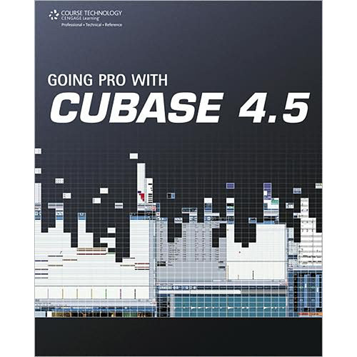 Cengage Course Tech. Book: Going Pro with Cubase 5 by Steve Pacey