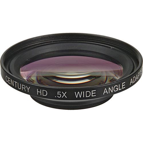 Century Precision Optics 0HD-05WA-43 0.5x Wide Angle Adapter Lens