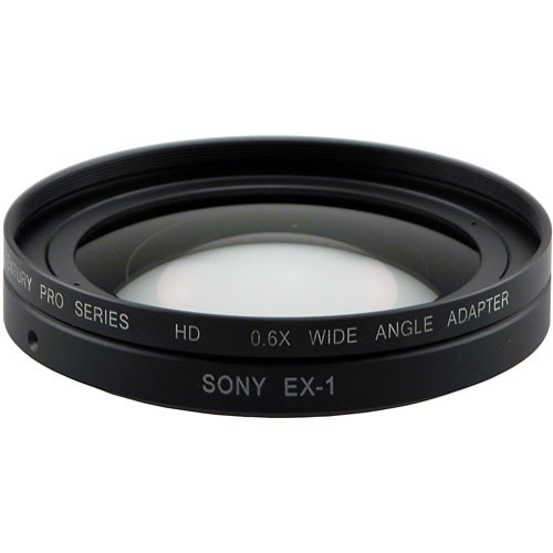 Century Precision Optics 0HD-06WA-EX1 0.6x Wide Angle Adapter Lens