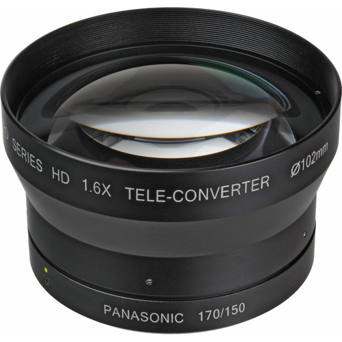 Century Precision Optics 1.6x HD Telephoto Conversion Lens for Panasonic AG-HPX170/AG-HMC150