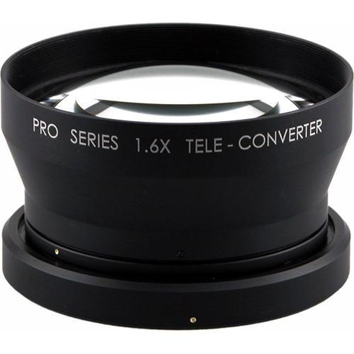 Century Precision Optics 0HD-16TC-SH6 1.6x Telephoto Converter Lens for HVR-V1U and HDR FX7
