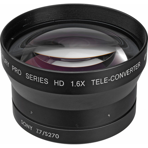 Century Precision Optics 0HD-16TC-Z7U 1.6x Telephoto Converter Lens