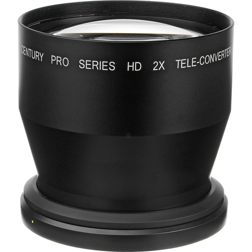 Century Precision Optics 2x Telephoto Converter Lens for Panasonic HVX200