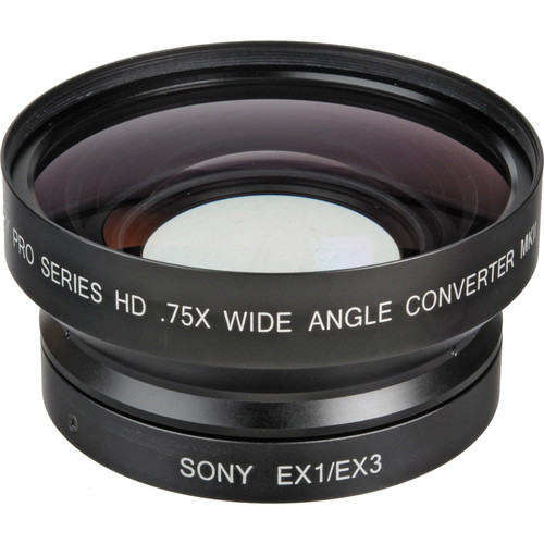 Century Precision Optics 0HD-75CV-EX3 0.75x Wide Angle Converter Lens
