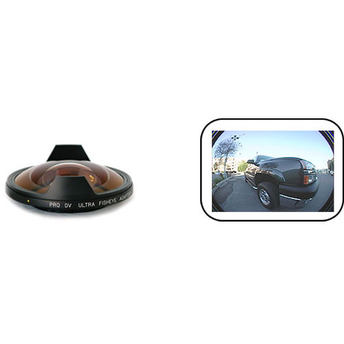 Century Precision Optics 0HD-FE3X-SH6 0.3x Ultra Fisheye Adapter Lens