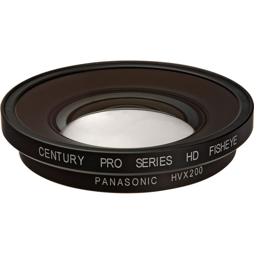 Century Precision Optics 0.55x Fisheye Adapter Lens for Panasonic HVX200