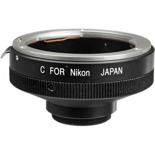 "Century Precision Optics LA-NICJ Nikon F to ""C"" Mount Adapter"