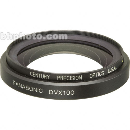Century Precision Optics VS-06WA-DVX 0.6X Wide Angle Adapter Lens for Panasonic AG-DVX100 Camcorder