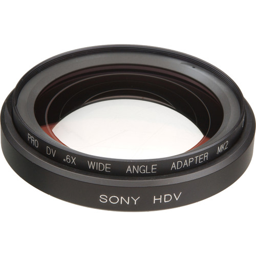 Century Precision Optics VS-06WA-HDS 0.6x Wide Angle Converter Lens - for Sony HDR-FX1 HDV Camcorders (Bayonet Mount)