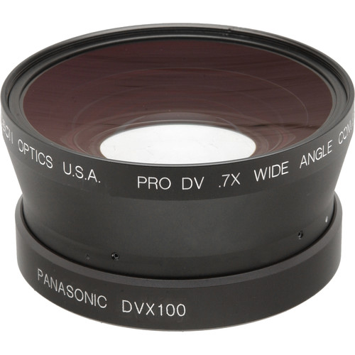 Century Precision Optics 0.7x Wide Angle Converter Lens for Panasonic AG-DVX100A and AG-DVX100