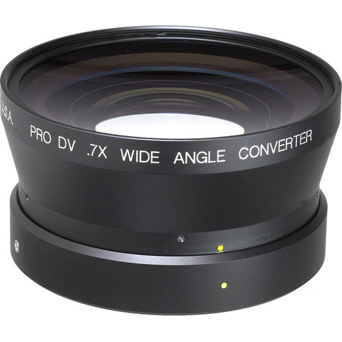 Century Precision Optics VS-07CV-MXL 0.7x Wide Angle Lens for Canon XL-1 16x Manual Lens