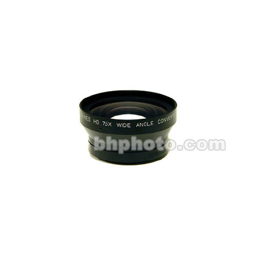Century Precision Optics 0.75x Wide Angle Converter Lens for Panasonic HVX200 (Zoom Through)