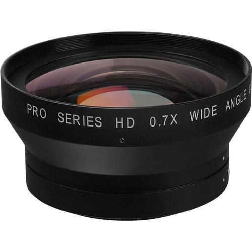 Century Precision Optics 0.7x Wide Angle Converter Lens for Sony HDR-FX1 & HVR-Z1U (Zoom Through)