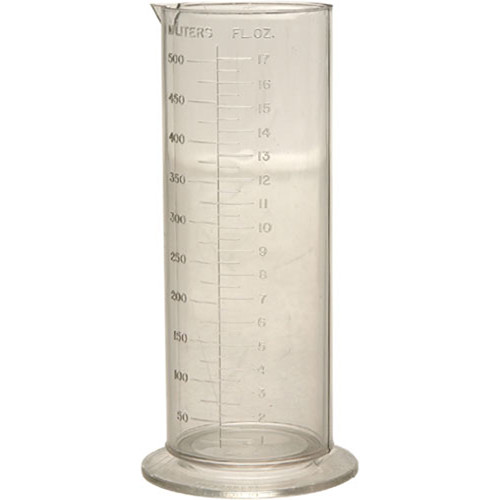Cescolite Plastic Graduate - 16 oz (470ml)