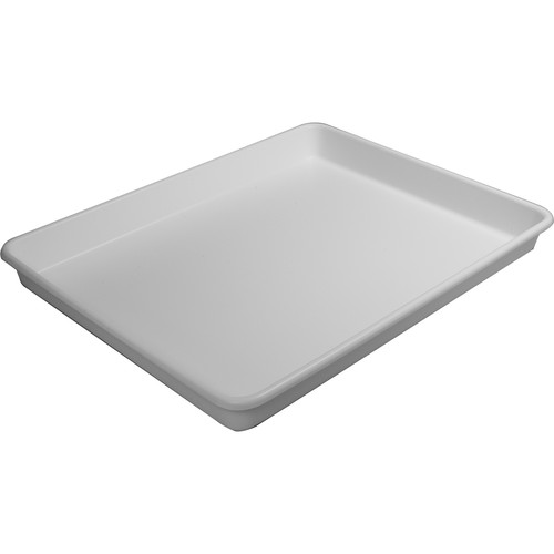 """Cescolite Heavy-Weight Plastic Developing Tray (30 x 40 x 3"""", White)"""