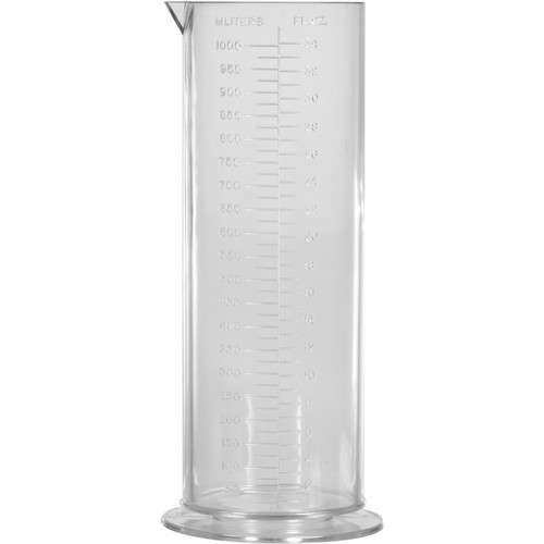 Cescolite Plastic Graduate - 32 oz (950ml)