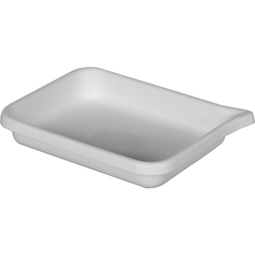 """Cescolite Heavy-Weight Plastic Developing Tray (White) - for 5x7"""" Paper"""