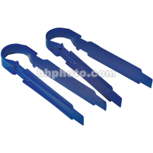"Cescolite Plastic Print Tongs 8"" Long (Set of 2)"