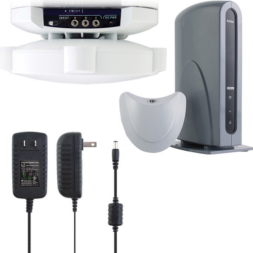 Cetacea Sound Astronaut XL Classroom Speaker System with Ceiling Mount and Wall Mount Power Supply