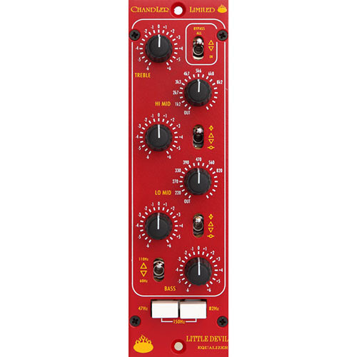 Chandler Little Devil EQ - 500 Series Processor