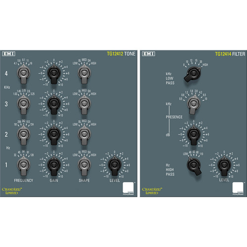 Chandler TG Mastering Pack - Classic EQ and Filter Plug-Ins (Native)