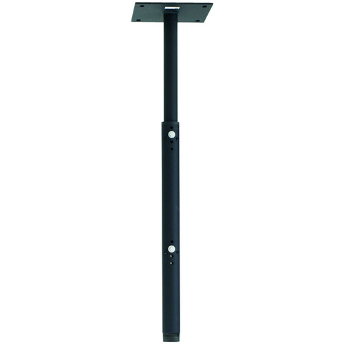 """Chief CMA100  8"""" Ceiling Plate with Adjustable 1.5""""  NPT Column (Black)"""
