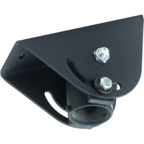 Chief CMA-395 Angled Ceiling Adapter with Threaded Coupler (Black)