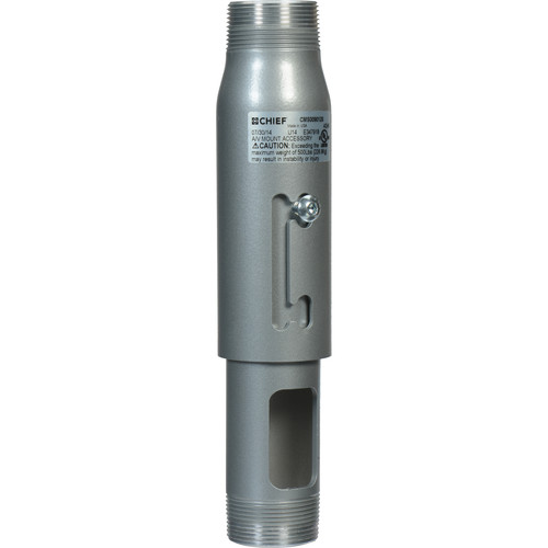 "Chief CMS-009012S 9-12"" Speed-Connect Adjustable Extension Column (Silver)"
