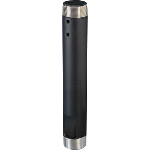 "Chief CMS-012 12"" Speed-Connect Fixed Extension Column (Black)"