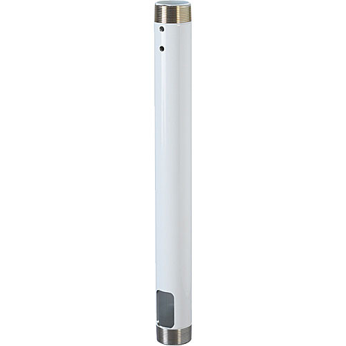 Chief CMS-048W 48-inch Speed-Connect Fixed Extension Column (White)