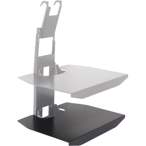 Chief FCD100 FUSION Stackable Component Shelf (Black)
