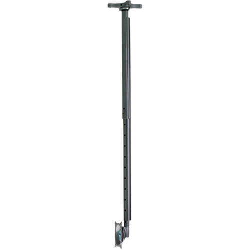 Chief FHPVB  Flat Panel Ceiling Mount Kit with Adjustable Column (Black)