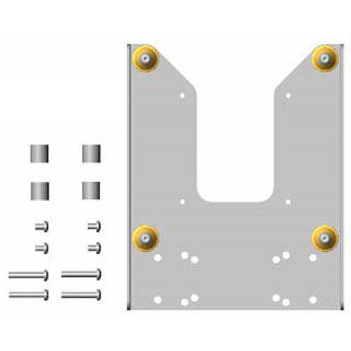 Chief FSB-4207S Custom Interface Bracket for Chief Small Flat Panel Mounts (Silver)