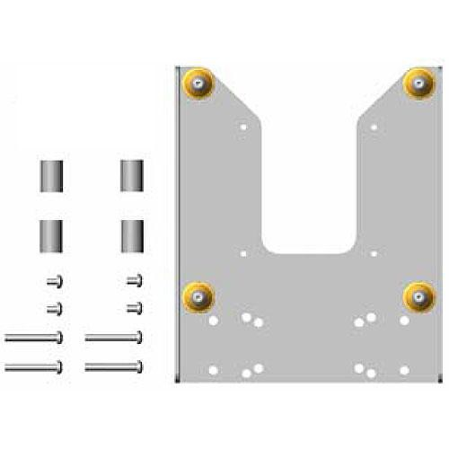 Chief FSB-4210S Custom Interface Bracket for Chief Small Flat Panel Mounts (Silver)