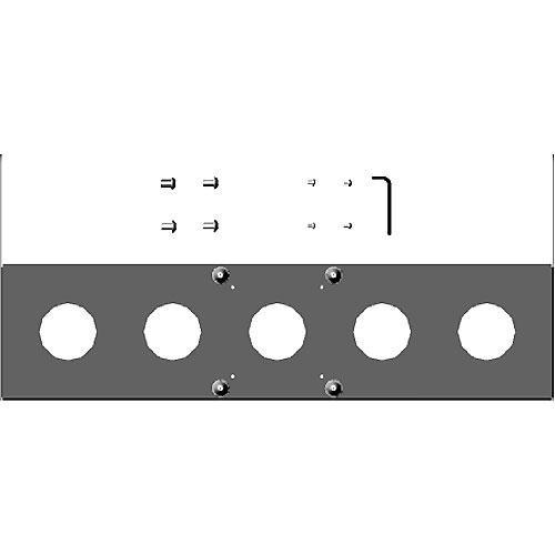 Chief FSB-4212B Custom Interface Bracket for Chief Small Flat Panel Mounts (Black)