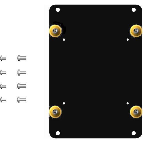 Chief FSB-4215B Custom Interface Bracket for Chief Small Flat Panel Mounts (Black)