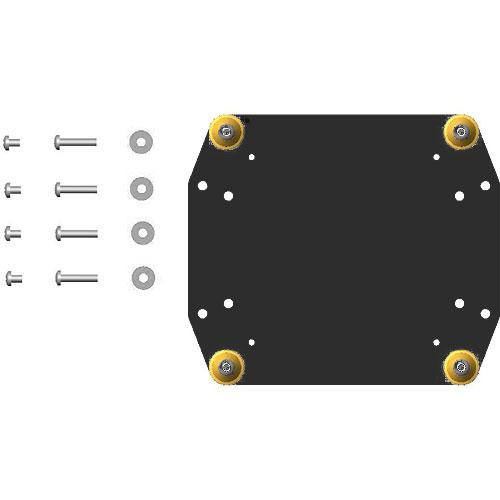 Chief FSB-4217B Custom Interface Bracket for Chief Small Flat Panel Mounts (Black)