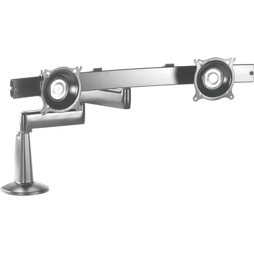 Chief KCD220S  Dual Monitor Swing Arm Desk Mount (Silver)