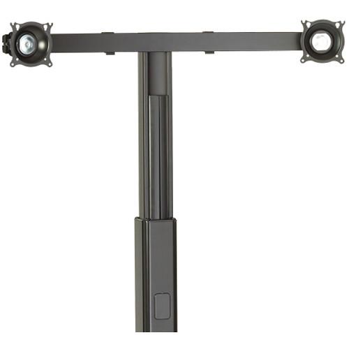 Chief KFA225 Dual Monitor Cart/Stand Accessory (Black)